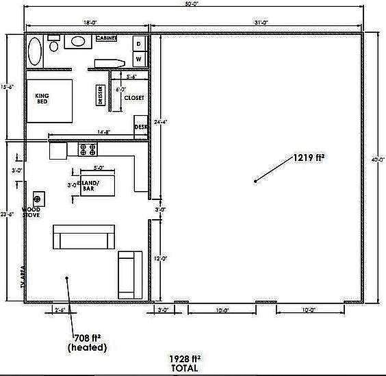 The 5 Best Barndominium Shop Plans With Living Quarters