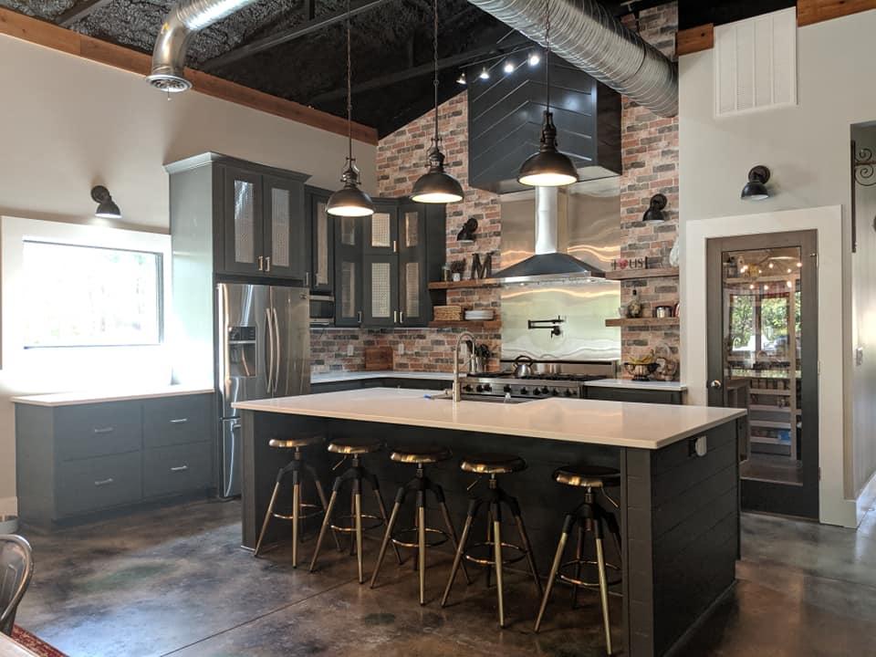 south carolina barndominium kitchen