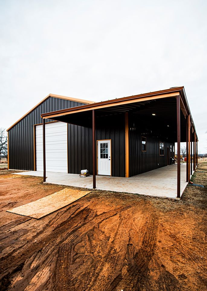 oklahoma barndominium with other view