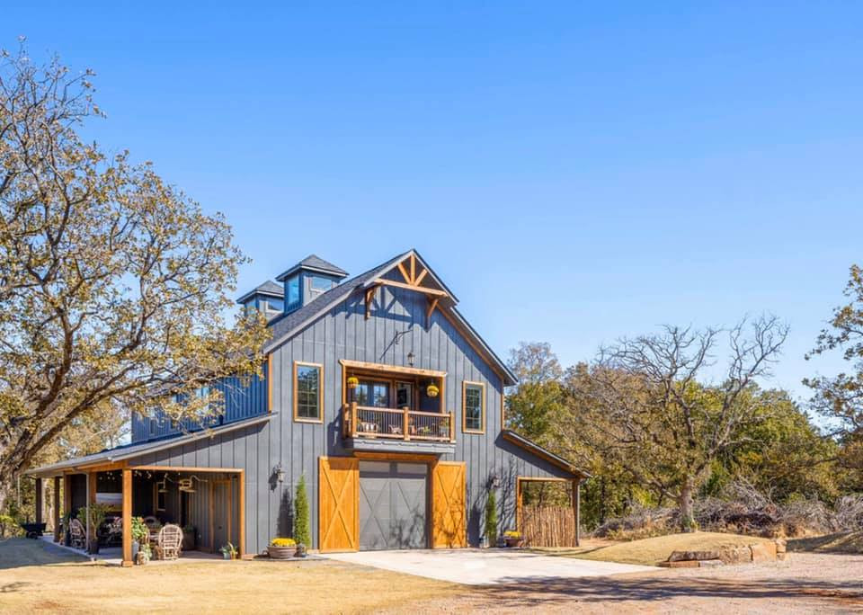 building a barndominium like this requires an engineering study