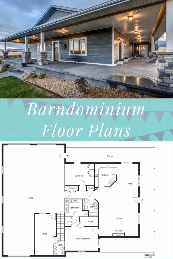 40x60 barndominium floor plan