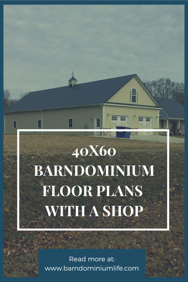 40x60 barndominium floor plans with shop