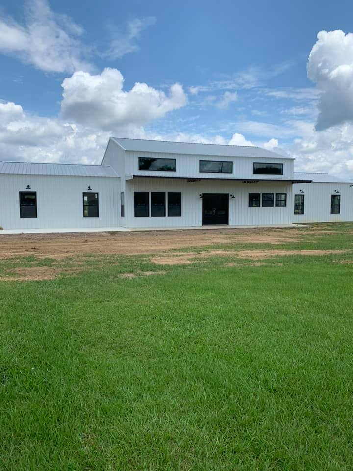 barndominium with shop in central mississippi