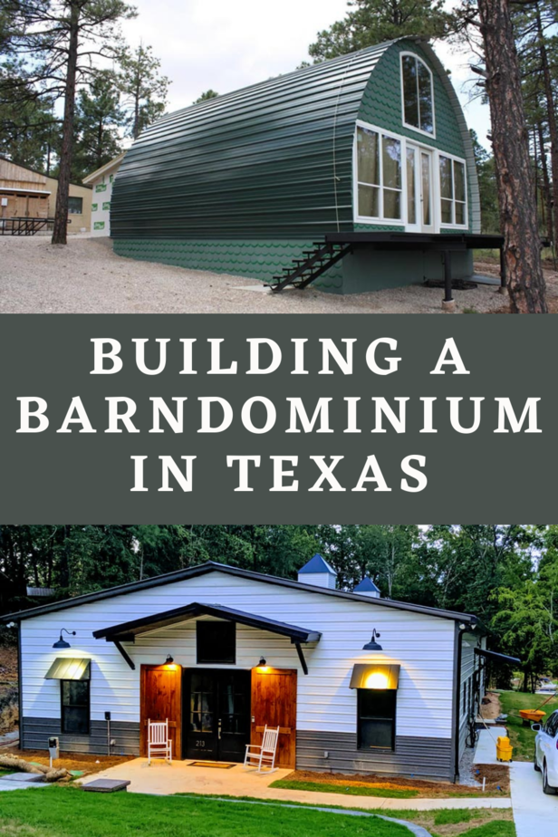 Building a Barndominium in Texas