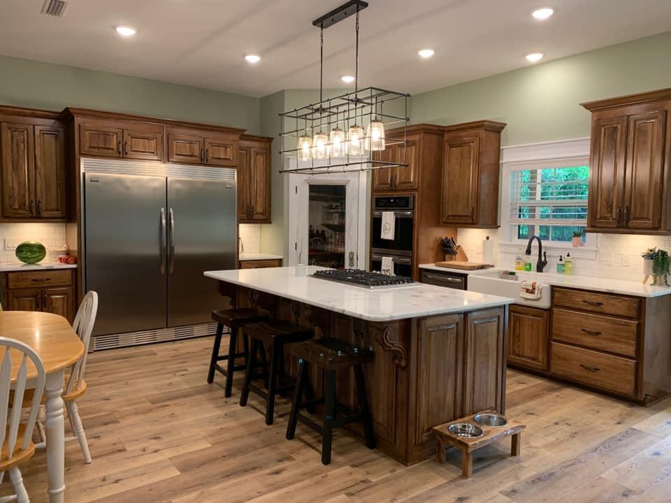 Hines Family Barndominium Kitchen