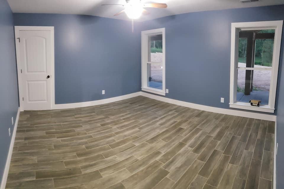 Carroll Family 3-Bed 2.5-Bath Tennessee Barndominium bedroom