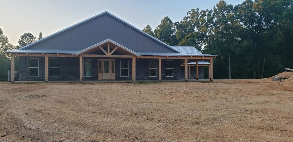 Carroll Family 3-Bed 2.5-Bath Tennessee Barndominium front view
