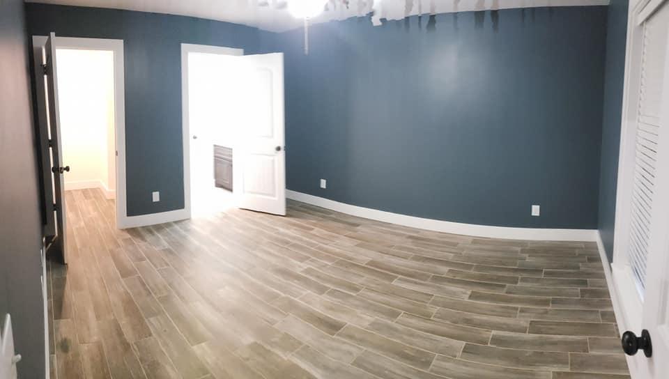 Carroll Family 3-Bed 2.5-Bath Tennessee Barndominium master bedroom