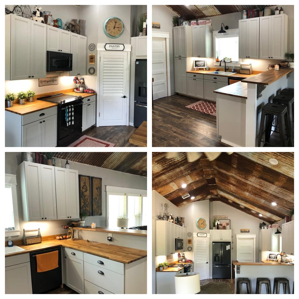 Glen Rose Texas Barndominium kitchen