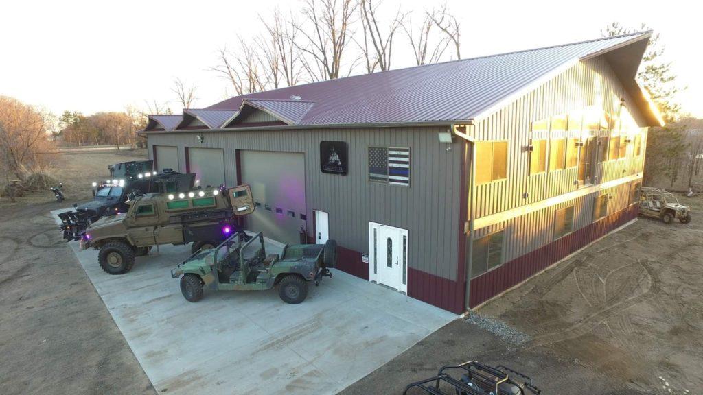 barndominium garage parking