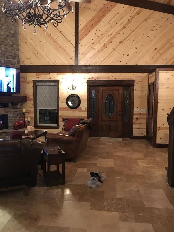 Oklahoma Barndominium great room