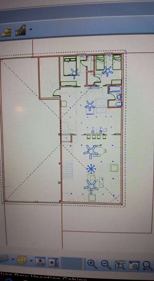 Oklahoma Barndominium second floor plan