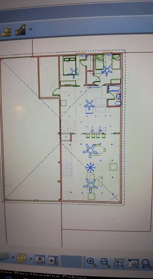 Oklahoma Barndominium second floor plan