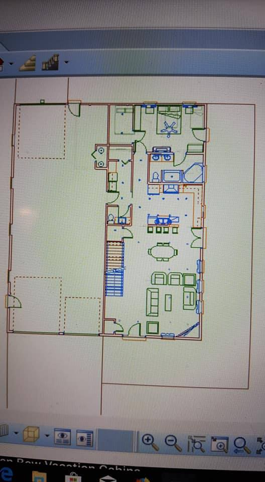 Oklahoma Barndominium first floor plan