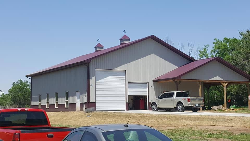 Oklahoma Barndominium garage/shop