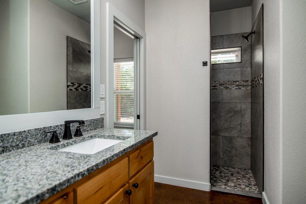 Mineral Wells Barndominium master shower
