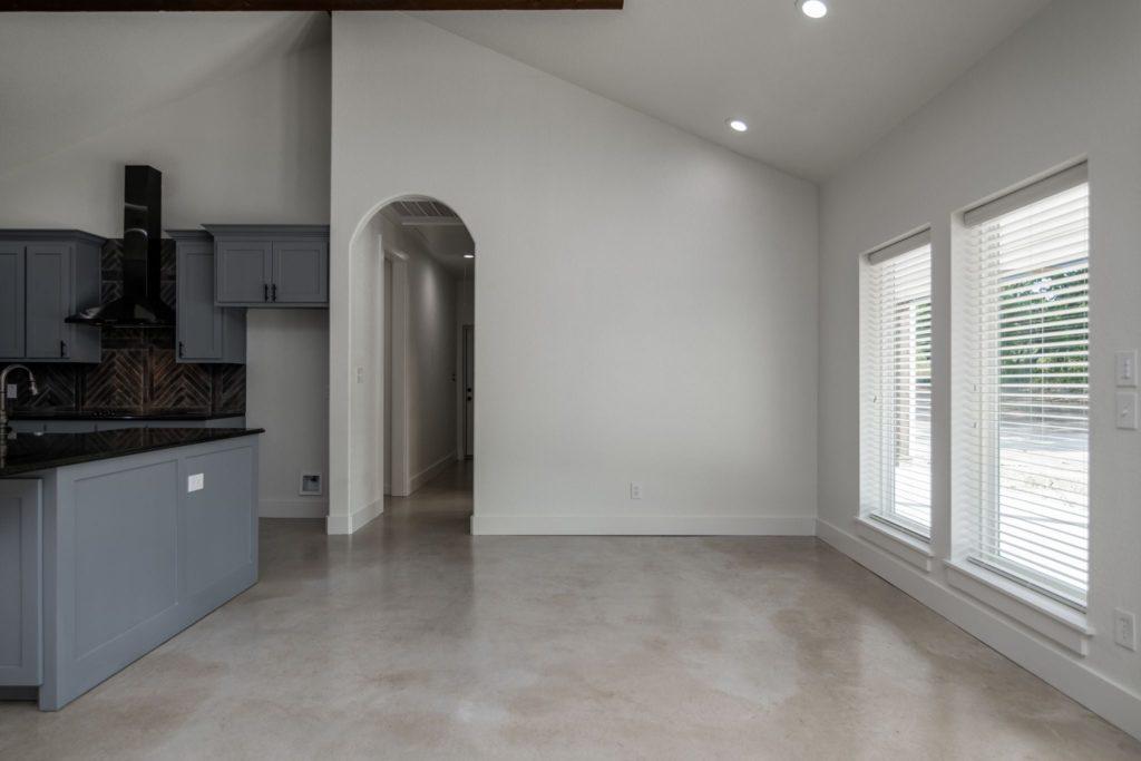 Texas Barndominium hallway
