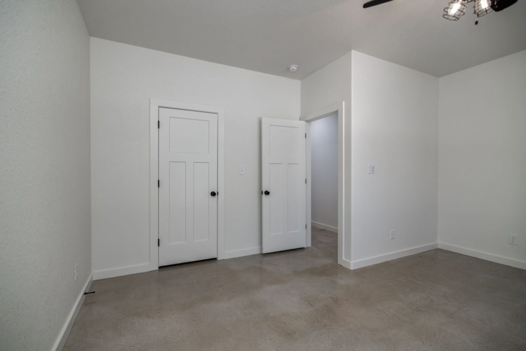 Texas Barndominium bedroom