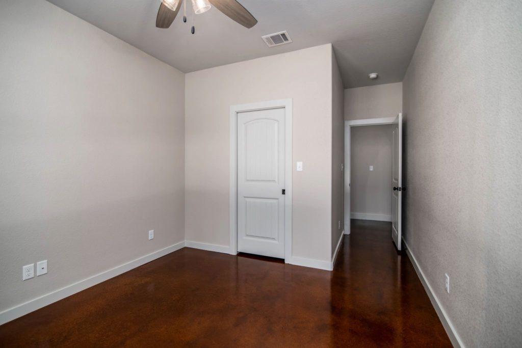 Mineral Wells Barndominium bedroom