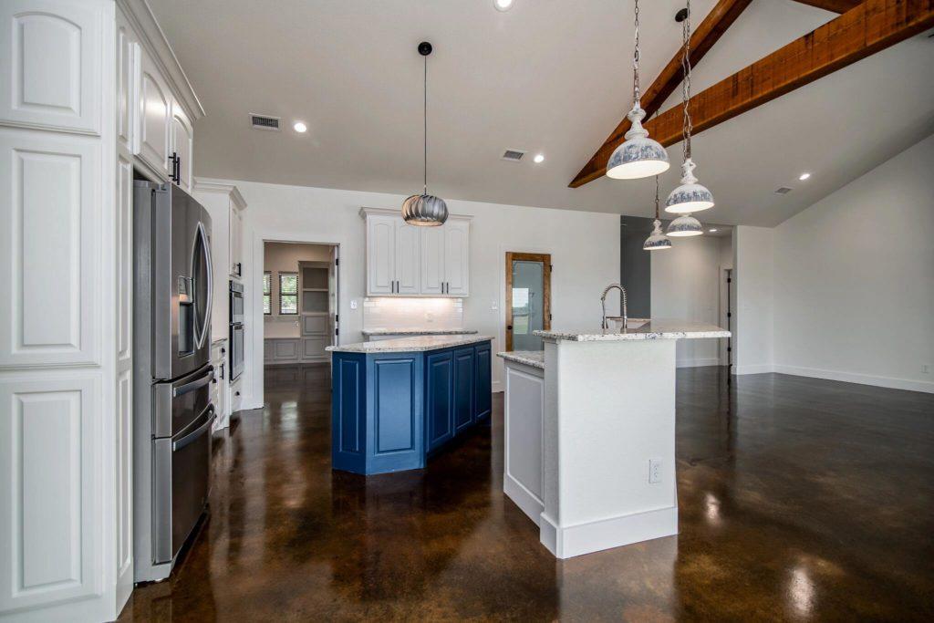 Rhome Texas Barndominium Kitchen