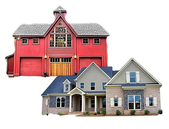 Barndominium vs House