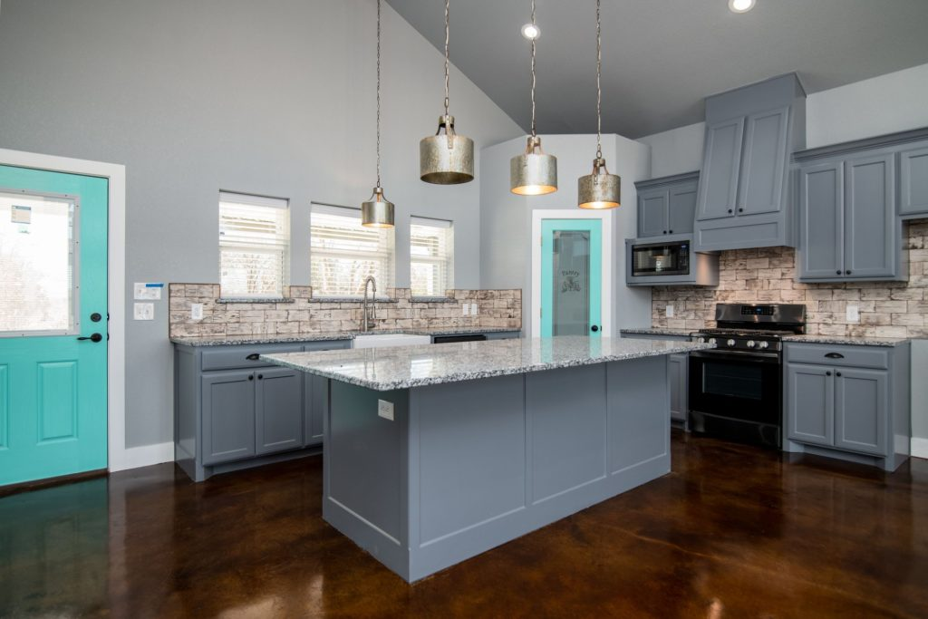 Butler Texas Barndominium kitchen