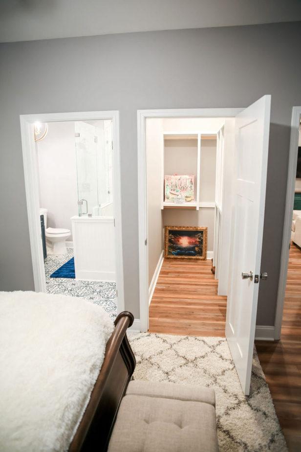 Athens Georgia Barndominium bedroom