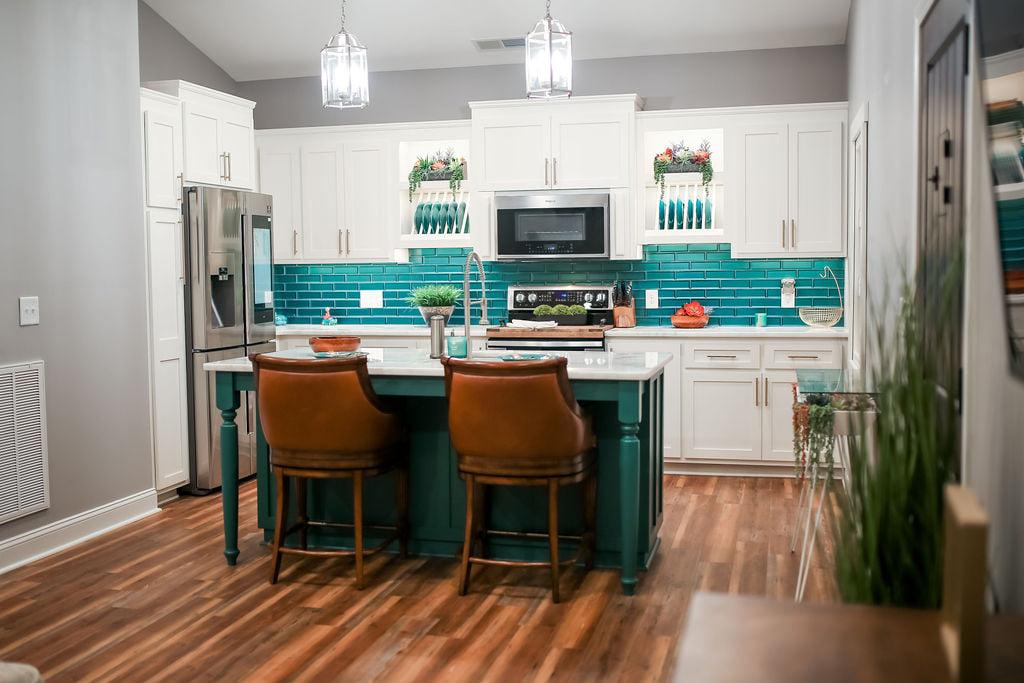 Athens Georgia Barndominium kitchen