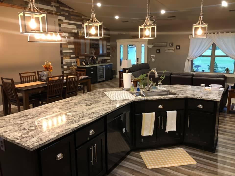 Missouri Barndominium Kitchen