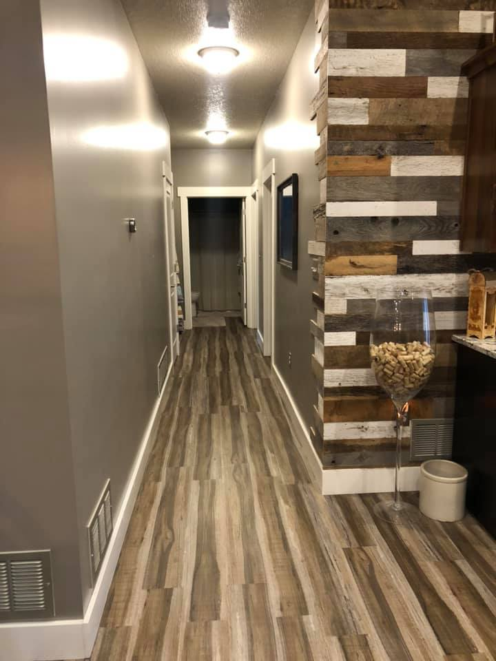 Hallway to Common Bathroom and Bedrooms