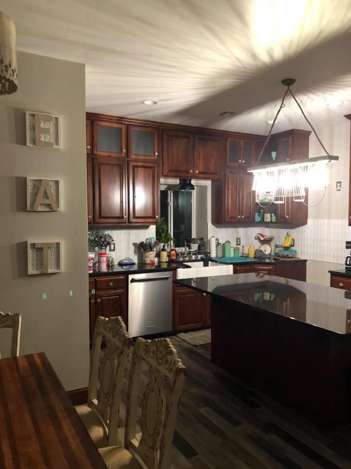 Oklahoma City Barndominium kitchen