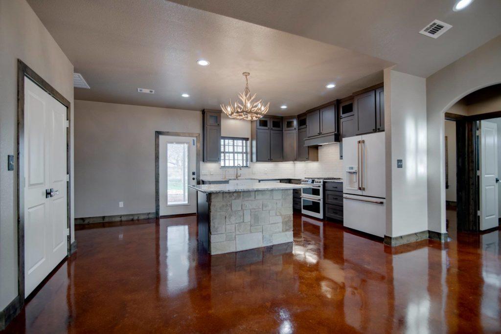 Alvord Texas Red Barndominium Kitchen