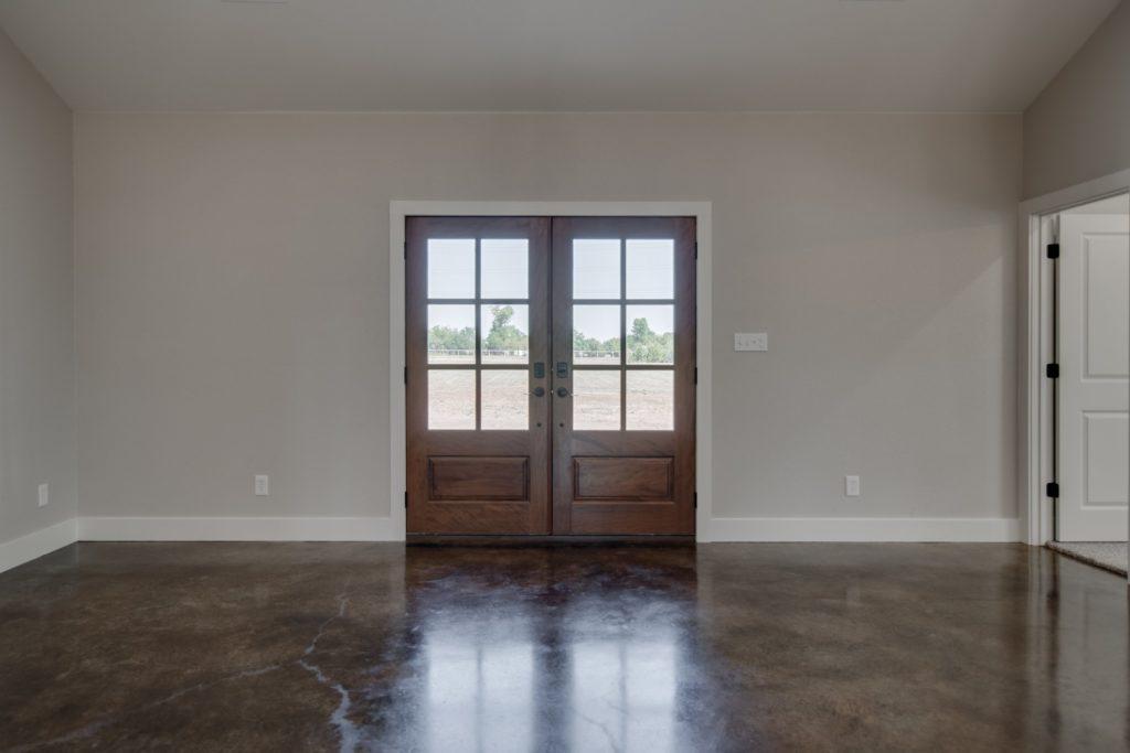 Springtown Texas Barndominium front door