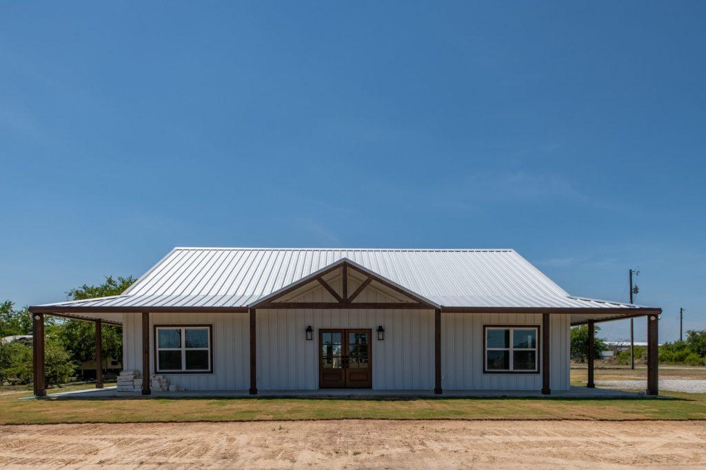 Springtown Texas Barndominium exterior
