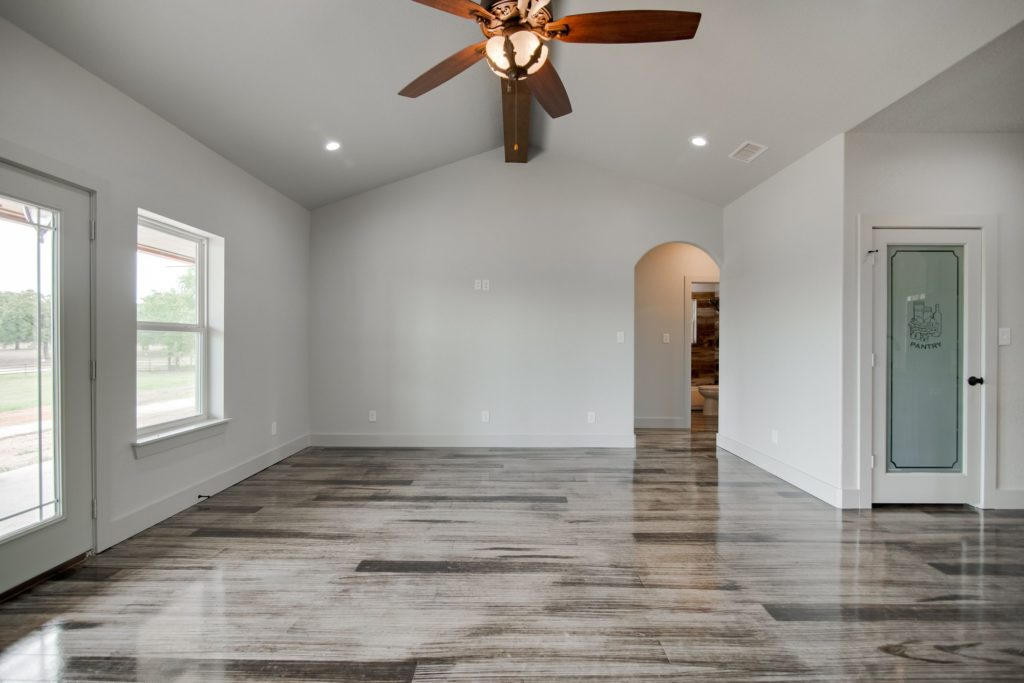 Boyd Texas Barndominium living space