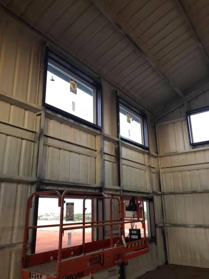 Oklahoma City Barndominium siding
