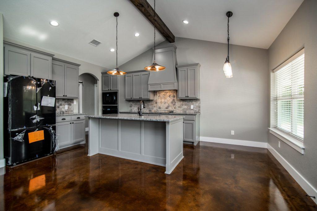 Boyd Barndominium kitchen