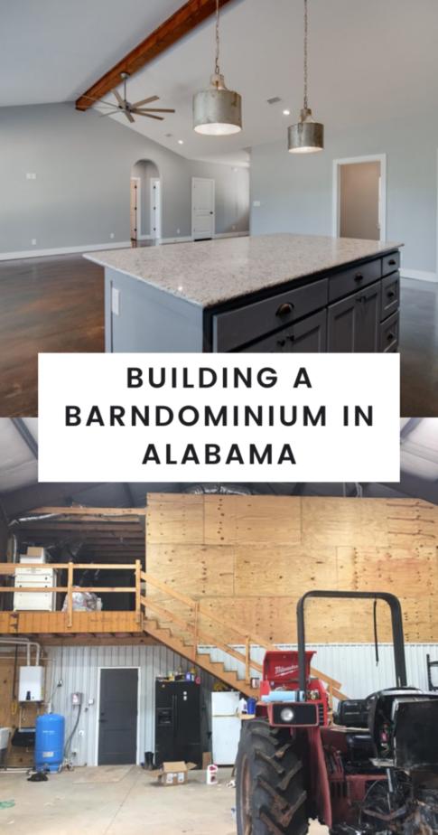 Building a Barndominium in Alabama