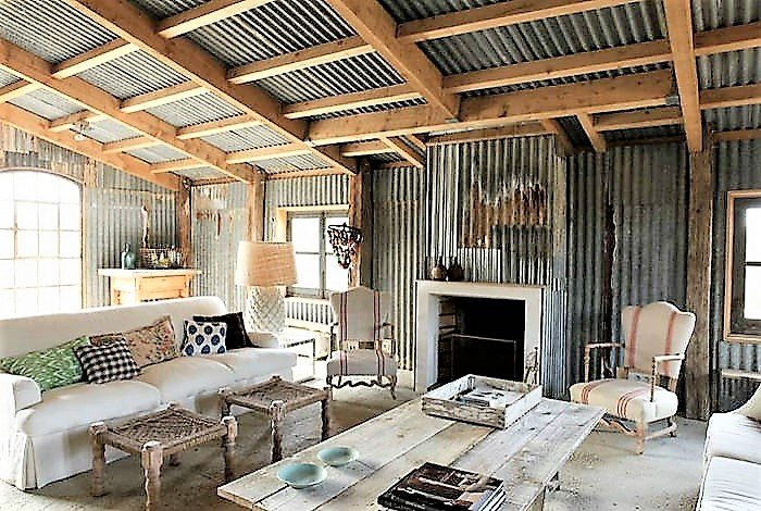 barndominium in Tennessee interior