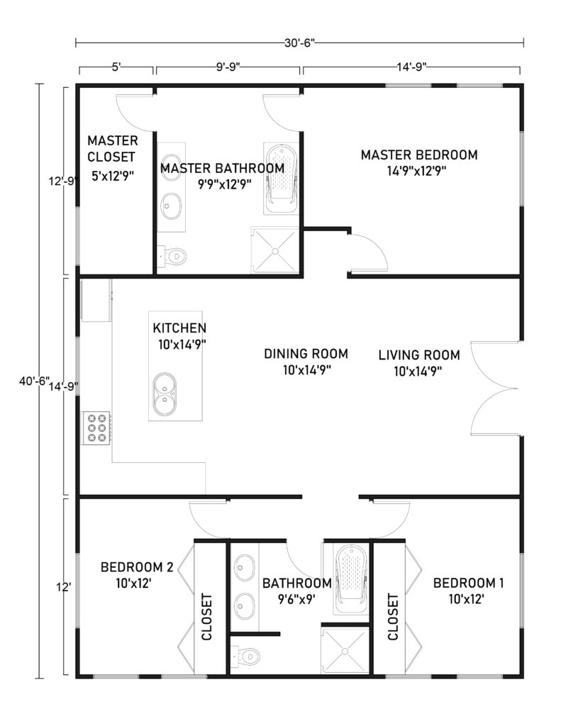 Amazing 30x40 Barndominium Floor Plans What To Consider We're happy you stopped by. amazing 30x40 barndominium floor plans