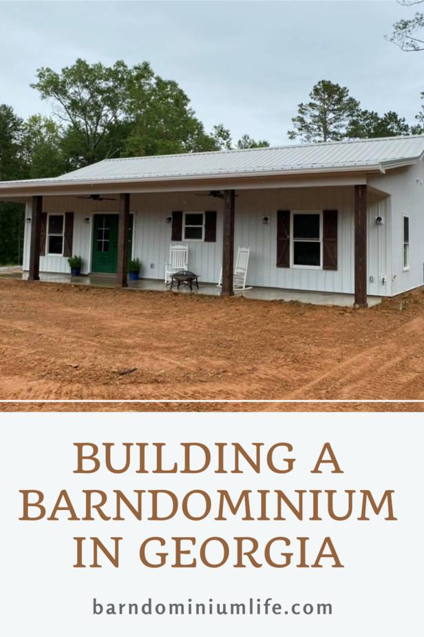 Building a Barndominium in Georgia