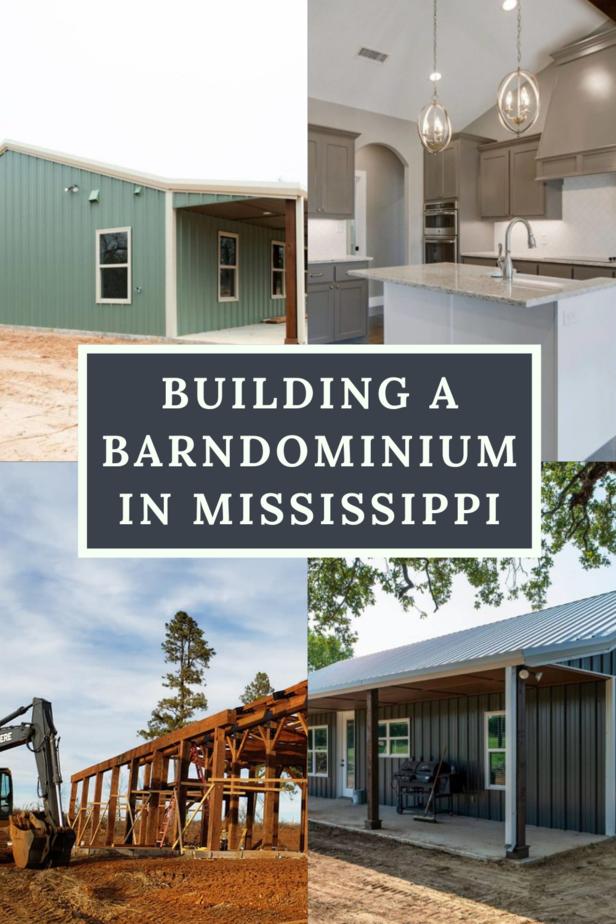 Building a Barndominium in Mississippi