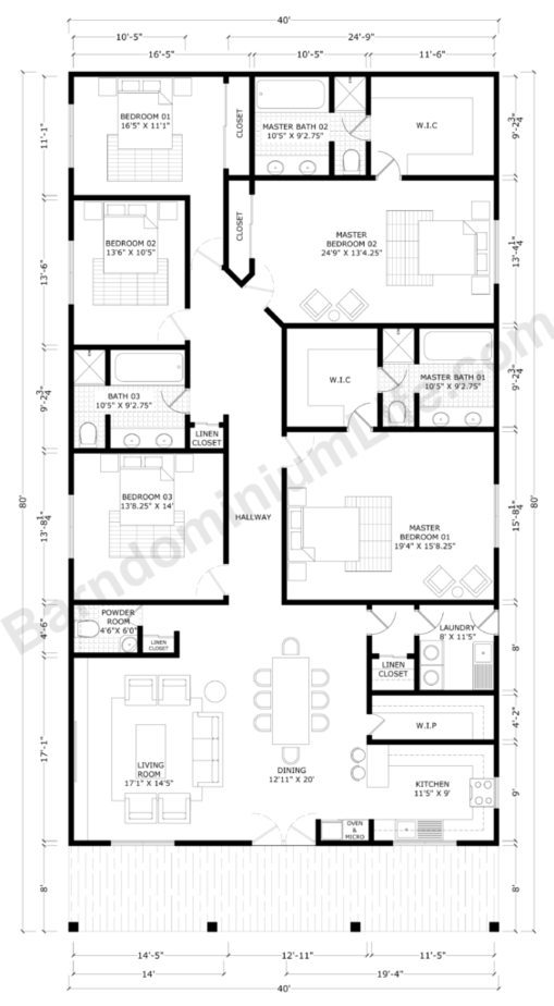 Barndominium Floor Plans With 2 Master Suites What To Consider