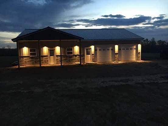 barndominium in Missouri exterior