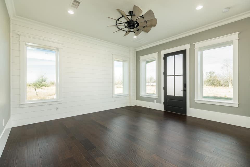 Houston Texas Barndominium Ground Floor Bedroom