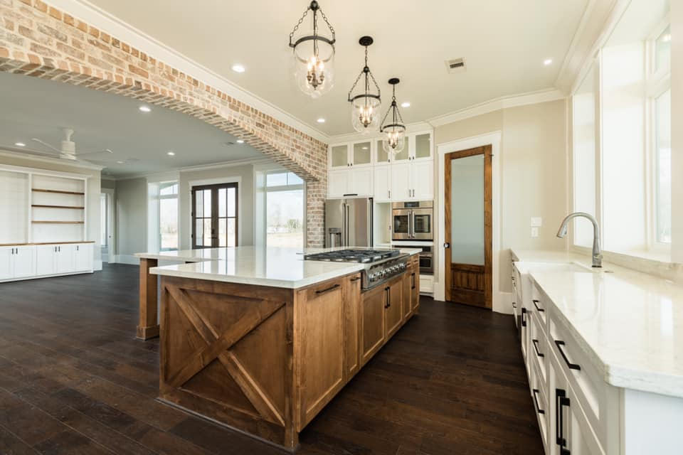 Houston Texas Barndominium Kitchen
