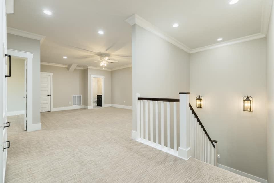 Houston Texas Barndominium Second Floor Landing