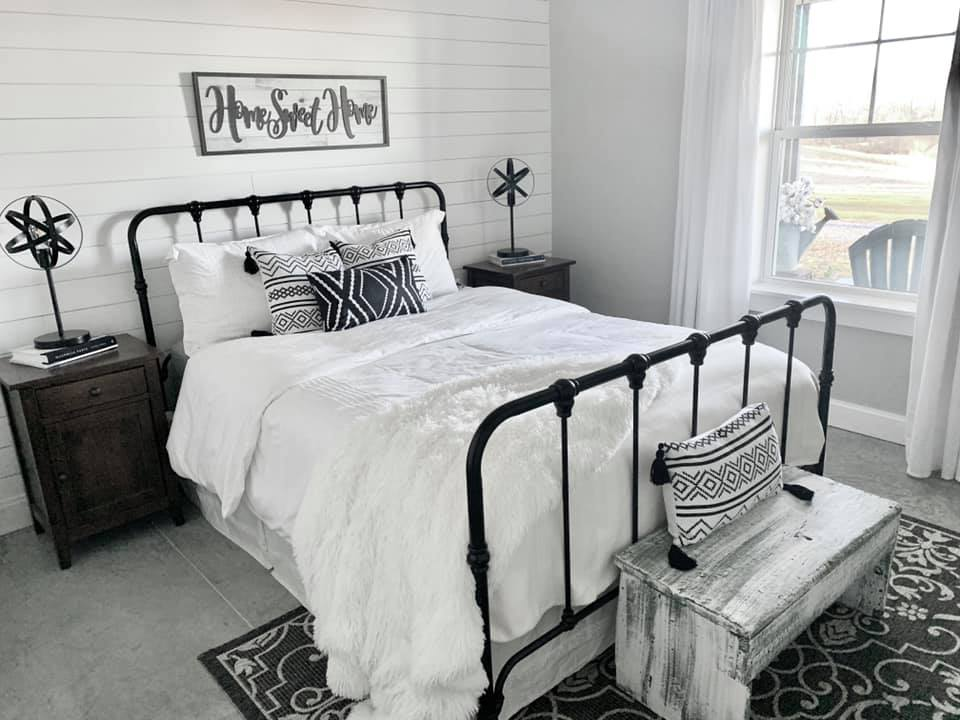 Charlotte NC Barndominium Guest Room