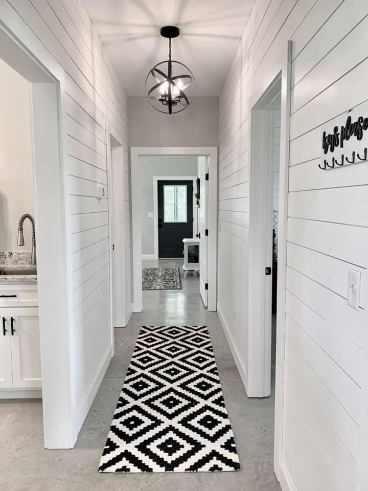 Charlotte NC Barndominium Hallway