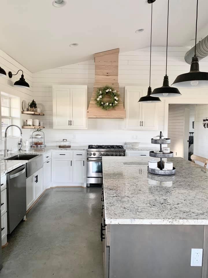 Charlotte NC Barndominium Kitchen